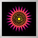 Mandala Sun 1 Print
