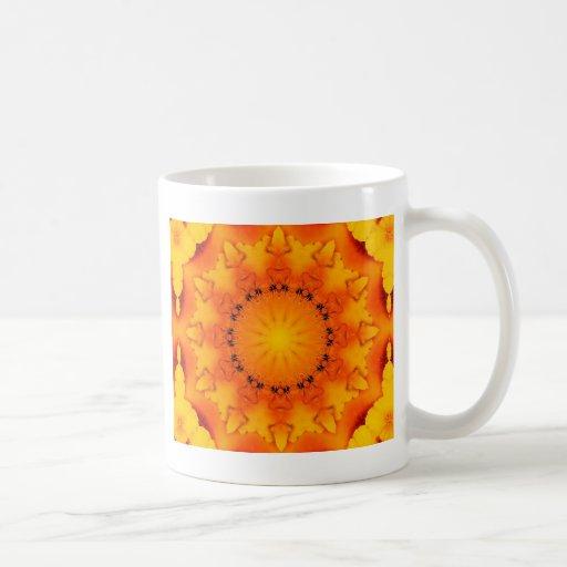Mandala 'Sun' Classic White Coffee Mug