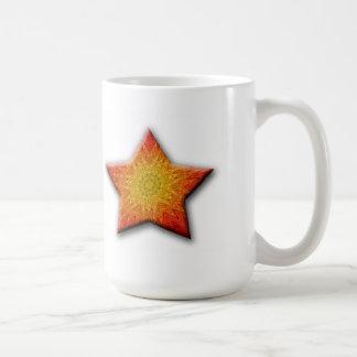 Mandala Sun Star Coffee Mug