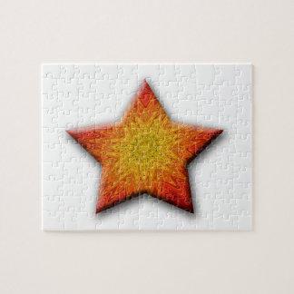 Mandala Sun Star Jigsaw Puzzles
