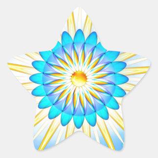 Mandala Sunshine Star Sticker