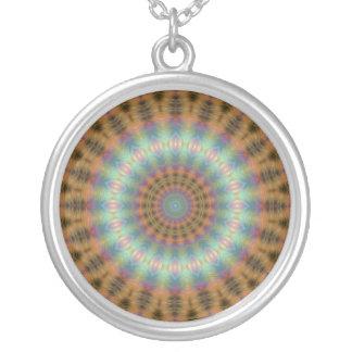 Mandala talismán colgante redondo