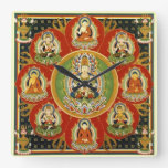 Mandala Tantric tibetana del Buddhism del vintage Relojes
