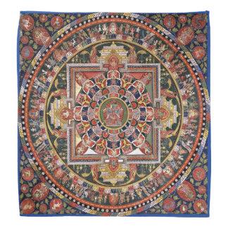 Mandala Tantric tibetana del Buddhism del vintage Bandana