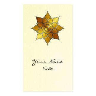 Mandala Plantilla De Tarjeta Personal