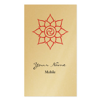 Mandala Tarjeta De Negocio