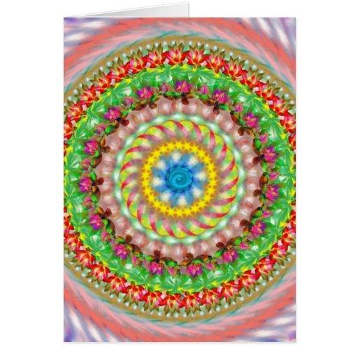 Mandala - tarjeta de felicitación