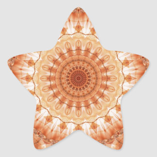 mandala Tenderness no. 2 created by Tutti Star Sticker