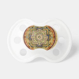 Mandala tibetana chupetes