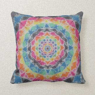 Mandala Tie Dye American MoJo Pillow