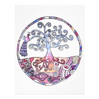 Mandala - Tree of Life in Paradise Letterhead
