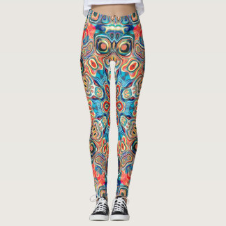 Mandala tribal abstracta leggings