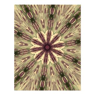 Mandala tribal antigua de la memoria flyer a todo color