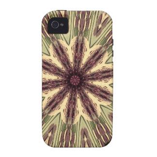 Mandala tribal antigua de la memoria Case-Mate iPhone 4 funda