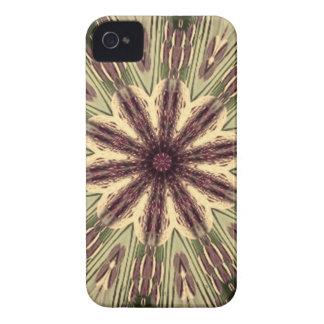 Mandala tribal antigua de la memoria iPhone 4 Case-Mate carcasa