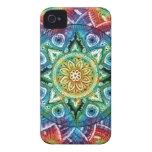 Mandala Trippy iPhone 4 Cárcasa