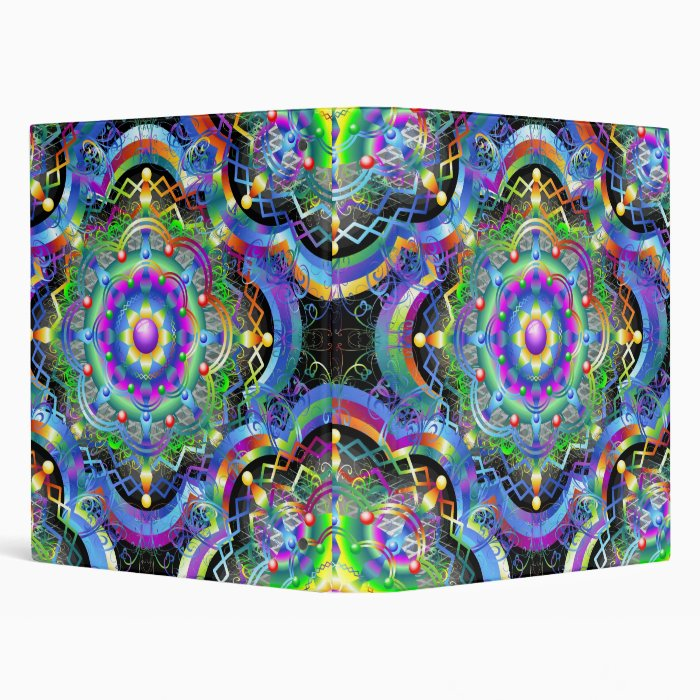 Mandala Universe Colors Binder