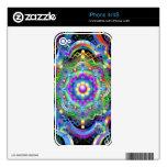 Mandala Universe Colors Skin For The iPhone 4