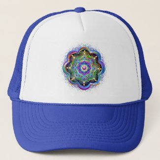 Mandala Universe Colors Trucker Hat