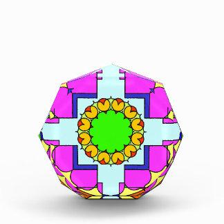 Mandala verde del punto