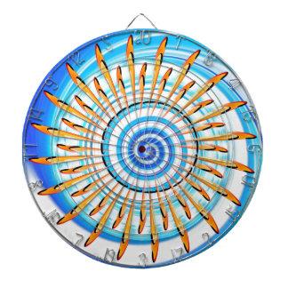 Mandala Waterwave Dartboards