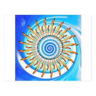 Mandala Waterwave Postales