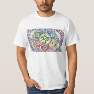 Mandala With Four Hands T-Shirt