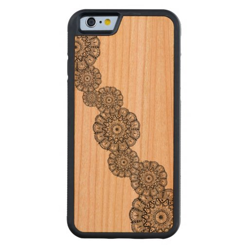 carved iphone case mandala wooden iphone 5s carved 174 cherry iphone 6 10341