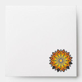 Mandala-Yellow Envelope