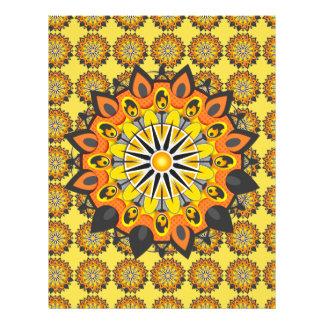 Mandala-Yellow Flyer