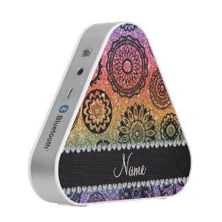Mandalas conocidas personalizadas del brillo del altavoz bluetooth