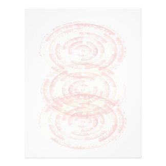 Mandalas de la meditación: Diseño gráfico Membrete