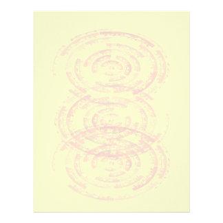 Mandalas de la meditación: Diseño gráfico Membrete A Diseño