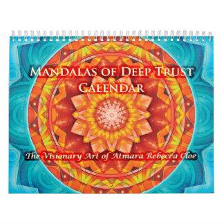 Mandalas del calendario profundo de la confianza