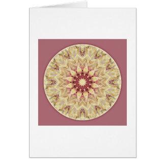 Mandalas del corazón de la paz, no. 2, tarjeta