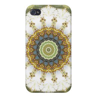 Mandalas del corazón de la paz, no. 5, iPhone 4 carcasas