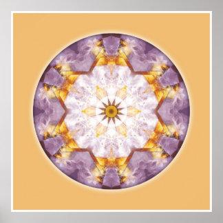 Mandalas del corazón de la transformación, no. 12 impresiones