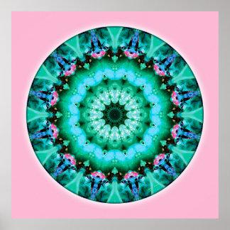 Mandalas del corazón de la transformación, no. 5 impresiones