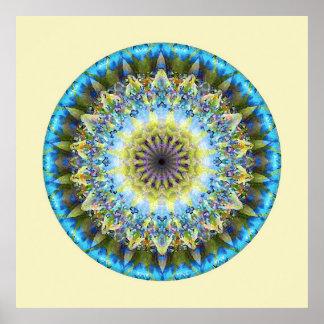 Mandalas del corazón de la transformación, no. 8 impresiones