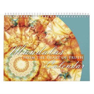 Mandalas del corazón del calendario de la verdad