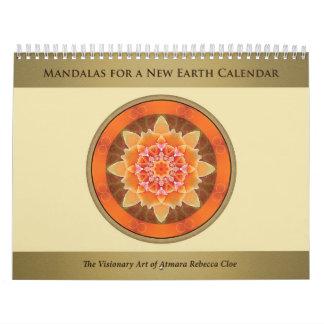 Mandalas for a New Earth 2015 Calendar