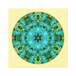 Mandalas for a New Earth, No. 16 Wrapped Canvas