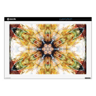 """Mandalas for Times of Transition 17 Gifts 17"""" Laptop Skins"""