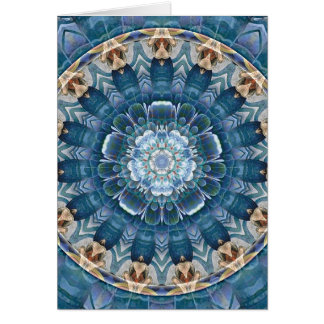 Mandalas for Times of Transition 27 Wrapped Canvas Card