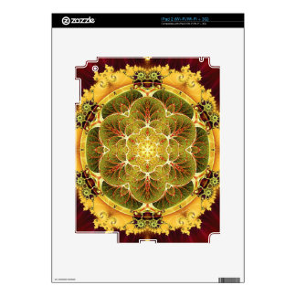 Mandalas for Times of Transition 8 Decal For iPad 2