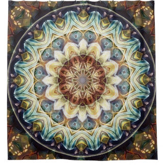 Mandalas for Times of Transition 9 Shower Curtain