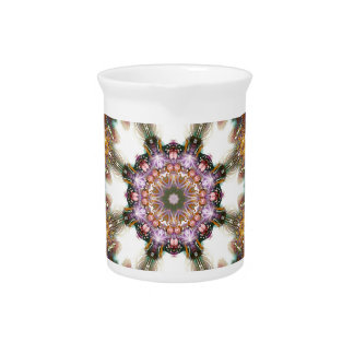 Mandalas from the Heart of Change 1, Gift Products Beverage Pitcher