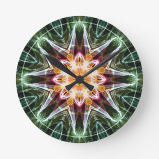 Mandalas from the Heart of Change 5, Gift Items Round Clock