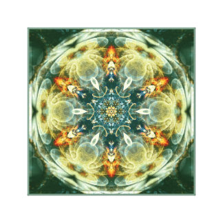 Mandalas from the Heart of Change 6 Wrapped Canvas