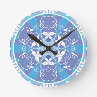 Mandalas from the Heart of Freedom 10 Gifts Round Clock